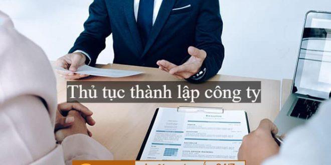 Dịch vụ tư vấn thành lập công ty tại TPHCM