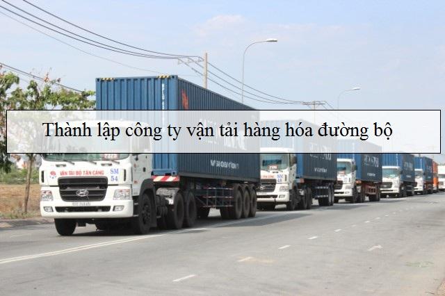 Dịch vụ tư vấn thành lập công ty Vận tải đường bộ Bắc-Nam